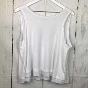 We The Free People Love White Tank Top